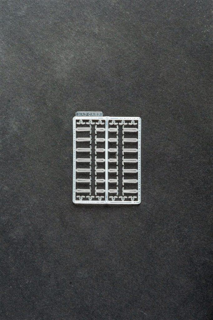 MAD CARP  Stopery do kulek ZIG-ZAG. Wykonane z polipropylenu (Moplen HP 548 R).Wymiary 63mm x 50mm.Idealne do pelletu.