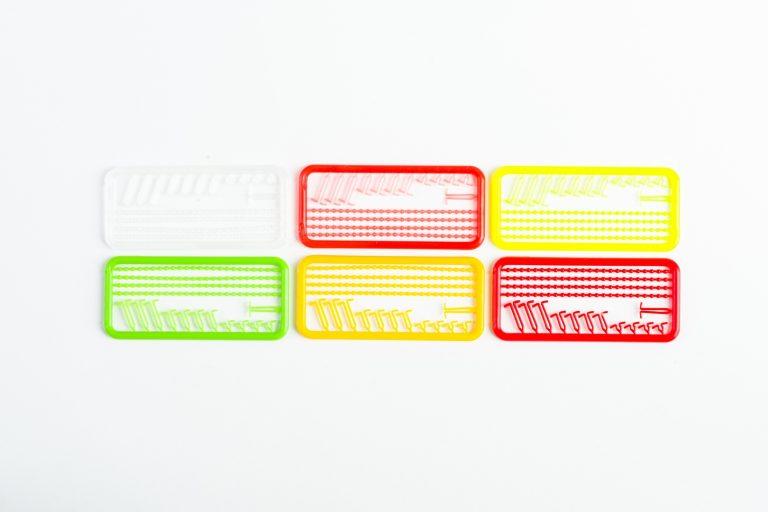 MAD CARP  Stopery do kulek proteinowych MIX. Znakomicie nadają się także do pelletu. Wymiary 68mm x 45mm.Zestaw 144 szt.Stopery do kulek proteinowych MIX  MAD CARP.  Znakomicie nadają się także do pelletu. Wymiary 68mm x 45mm.Zestaw 144 szt.