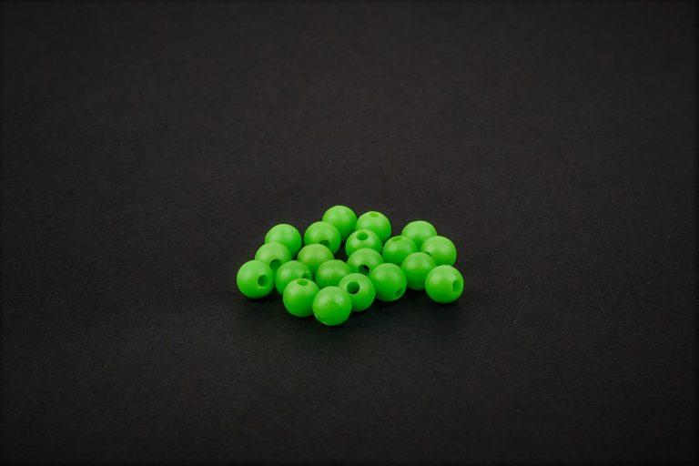 MAD CARP   Koraliki zderzakowe, zielone, 6mm.