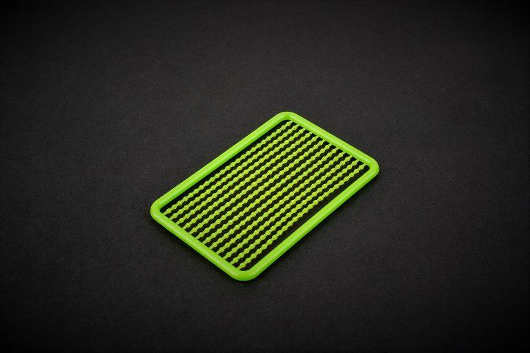 MAD CARP. Stopery do kulek. Wykonane z polipropylenu (Moplen HP 548 R). Kolor zielony. Znakomicie nadają się także do pelletu. Wymiary 68mm x 45mm.Zestaw 144 szt.