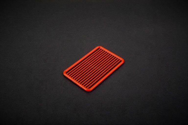 MAD CARP. Stopery do kulek. Wykonane z polipropylenu (Moplen HP 548 R).Kolor czerwony. Znakomicie nadają się także do pelletu. Wymiary 68mm x 45mm.Zestaw 144 szt.