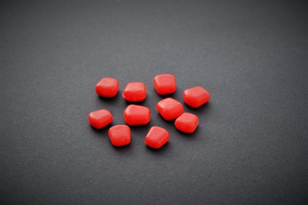 MAD CARP  Sztuczna Kukurydza Pływająca MIDI Premium Czerwona